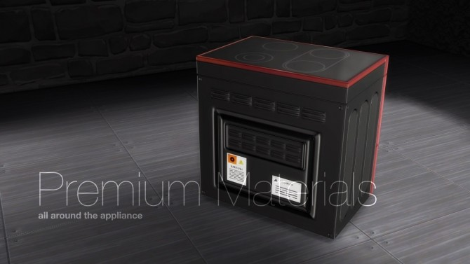 H&B PowerWave Stove by littledica at Mod The Sims image 101 670x377 Sims 4 Updates