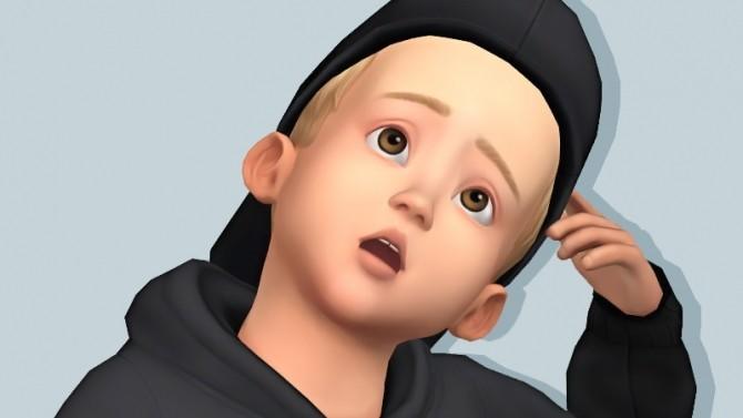 Sims 4 EA Toddler Cap at Rinvalee