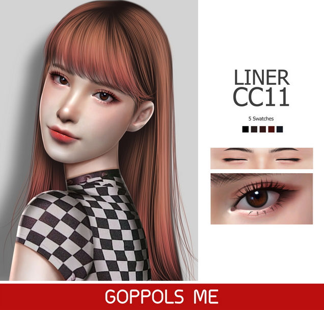 Sims 4 GPME Liner cc11 at GOPPOLS Me