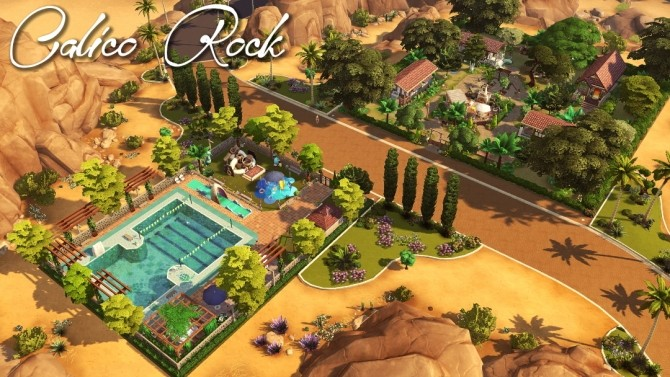Maristella Plus re do of Oasis Springs at Jenba Sims image 10118 670x377 Sims 4 Updates