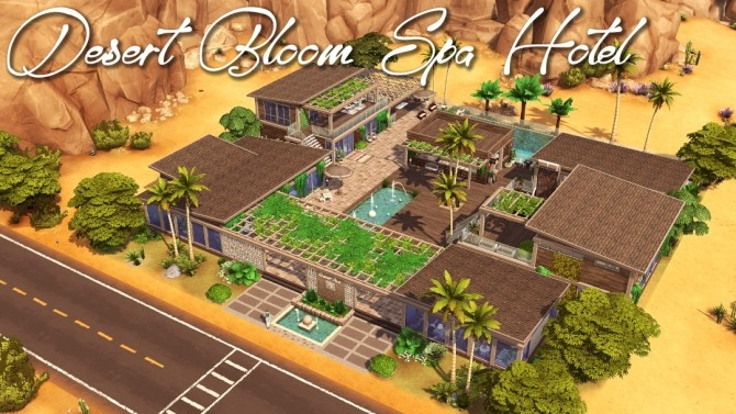 Maristella Plus re do of Oasis Springs at Jenba Sims image 10215 670x377 Sims 4 Updates