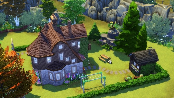 Sims 4 Old Vet Residence No CC by Chaosking at Mod The Sims