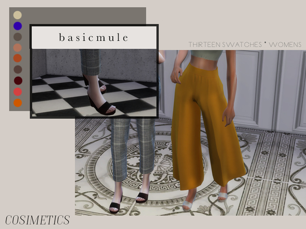 Sims 4 Basic mule by cosimetics at TSR
