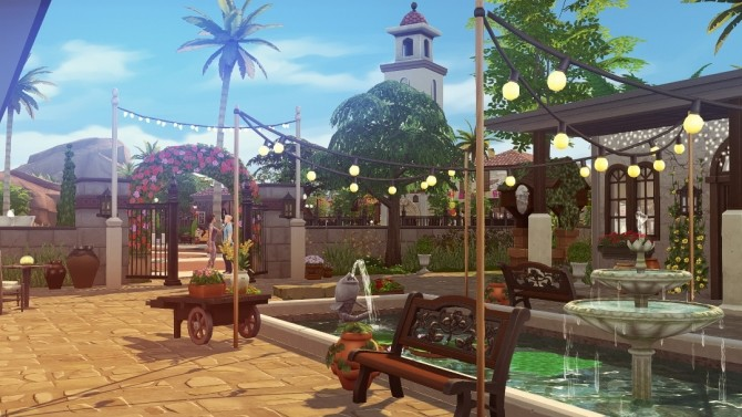 Maristella Plus re do of Oasis Springs at Jenba Sims image 10510 670x377 Sims 4 Updates