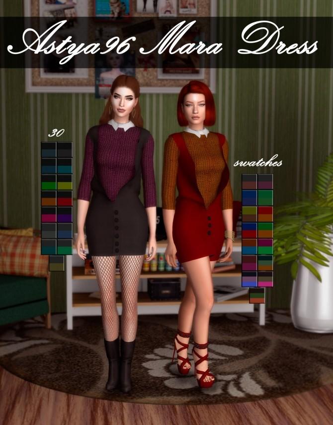 Mara Dress at Astya96 image 1056 670x856 Sims 4 Updates