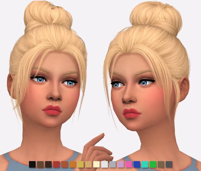 Nightcrawler Impulse Hair Re texture at Simlish Designs image 1075 Sims 4 Updates