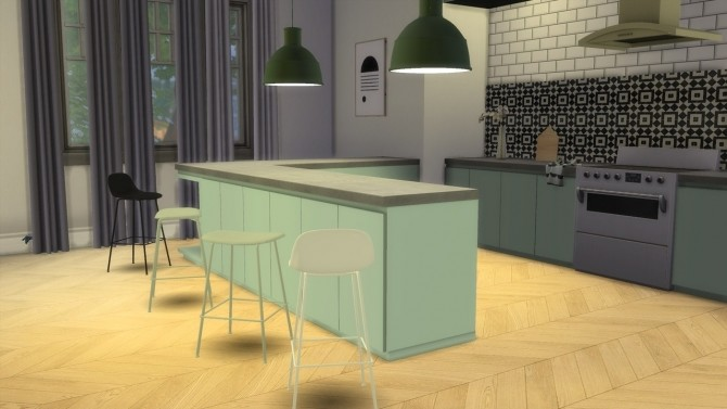 Fiber Stool Tube Base Collection at Meinkatz Creations image 10814 670x377 Sims 4 Updates