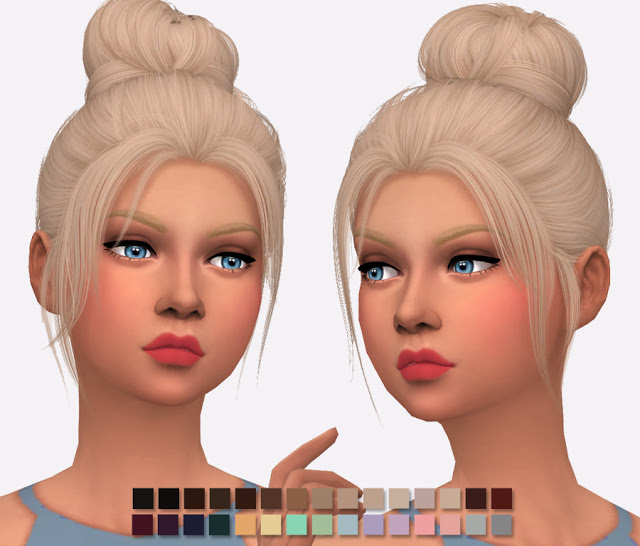Nightcrawler Impulse Hair Re texture at Simlish Designs image 1085 Sims 4 Updates