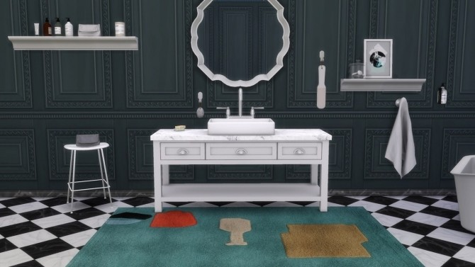 Fiber Stool Tube Base Collection at Meinkatz Creations image 10915 670x377 Sims 4 Updates