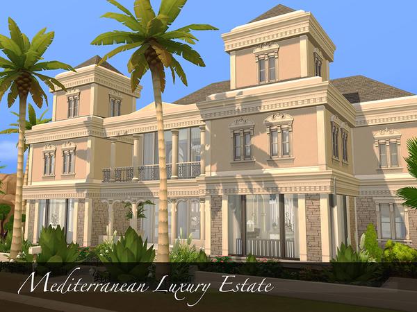 Mediterranean Luxury Estate by pinoe at TSR image 1130 Sims 4 Updates