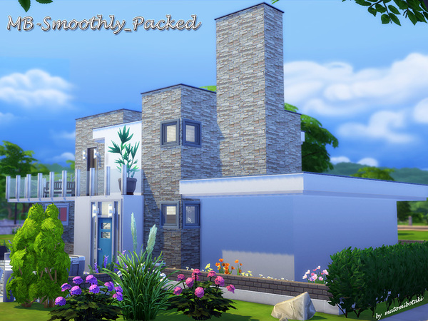 MB Smoothly Packed house by matomibotaki at TSR image 1136 Sims 4 Updates