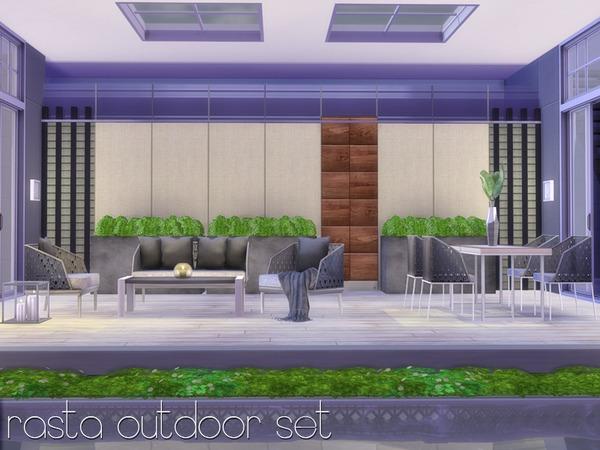 Rasta Outdoor Set by Nikadema at TSR image 1157 Sims 4 Updates