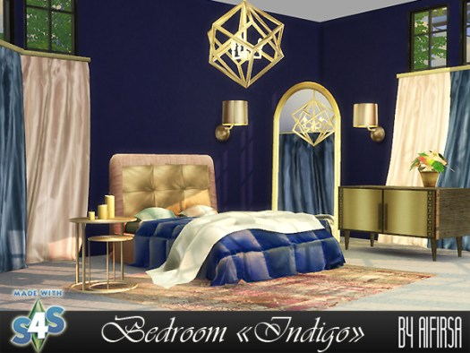 Indigo Bedroom At Aifirsa