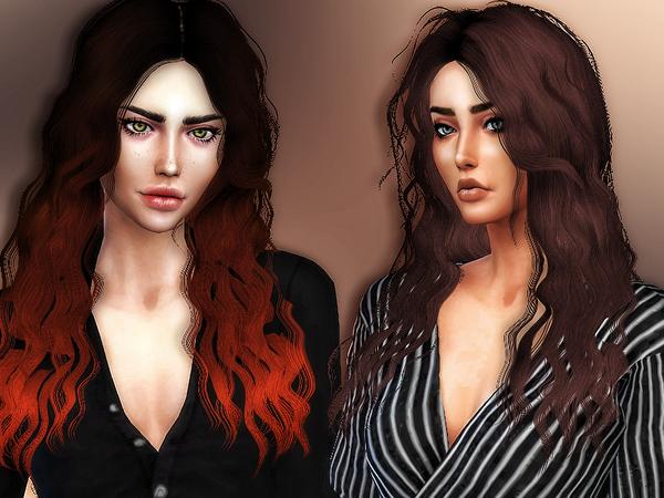 Sims 4 Britney hair retexture by Sharareh at TSR