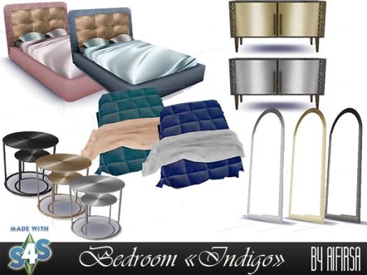 Indigo bedroom at Aifirsa image 117 Sims 4 Updates