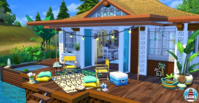 Ocean View house by Waterwoman at Akisima image 1203 670x349 Sims 4 Updates