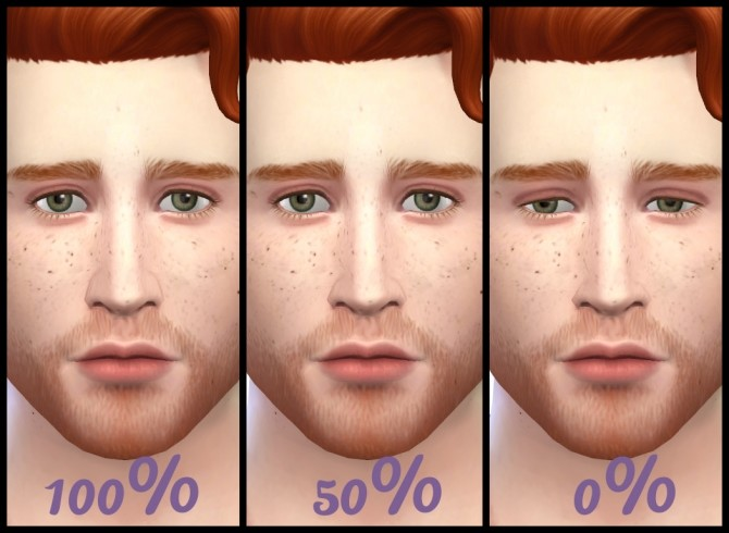 Sims 4 Alar Sidewall (Nostril Definition) Slider by Hellfrozeover at Mod The Sims