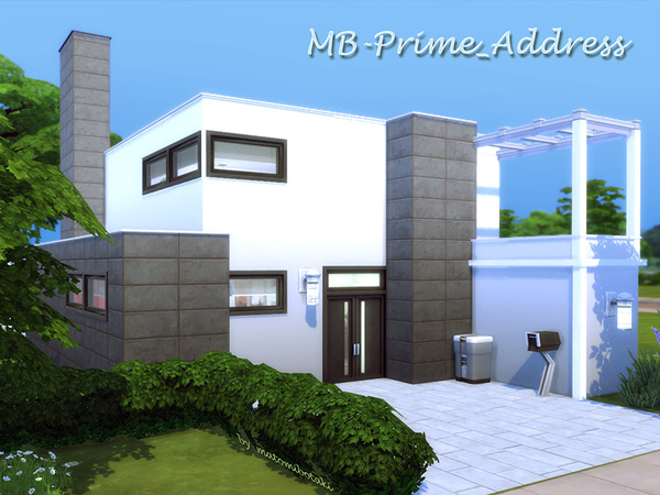 MB Prime Address house by matomibotaki at TSR image 12115 Sims 4 Updates