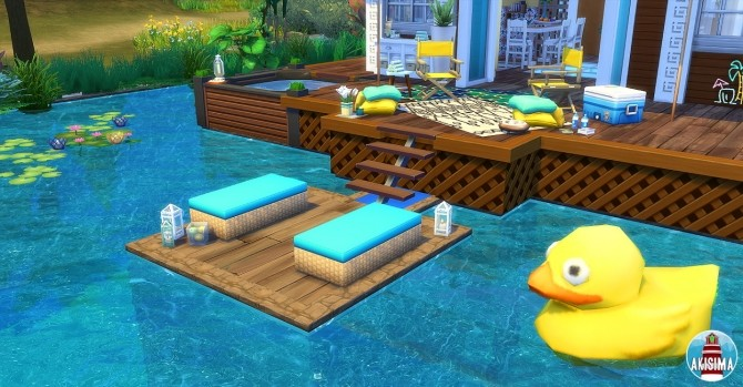 Ocean View house by Waterwoman at Akisima image 1218 670x349 Sims 4 Updates