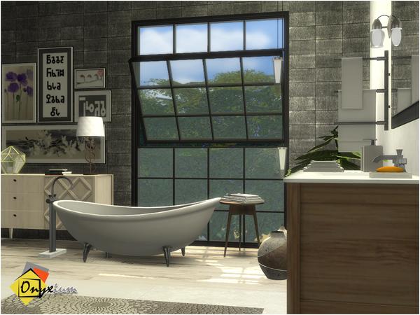 Brantford Bathroom by Onyxium at TSR image 1226 Sims 4 Updates