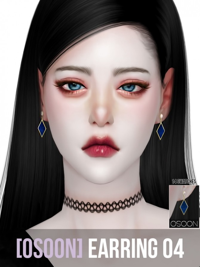 Earrings 04 at Osoon image 1235 670x894 Sims 4 Updates