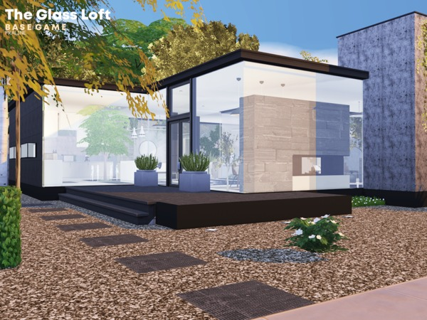 The Glass Loft by Pralinesims at TSR image 1238 Sims 4 Updates