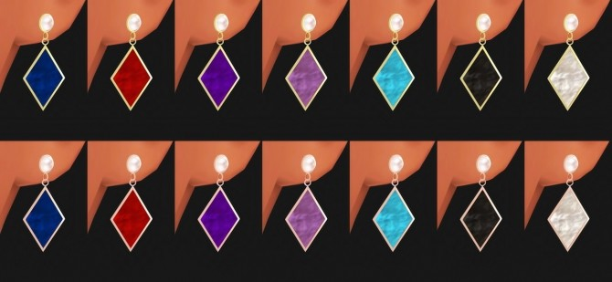 Earrings 04 at Osoon image 1244 670x309 Sims 4 Updates
