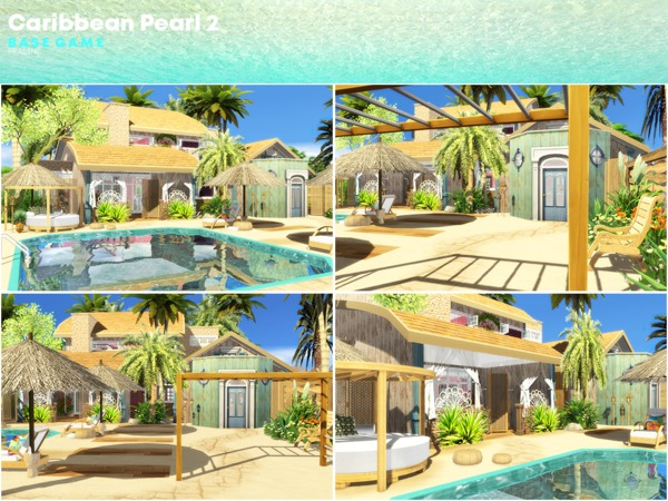 Caribbean Pearl 2 house by Pralinesims at TSR image 1252 Sims 4 Updates