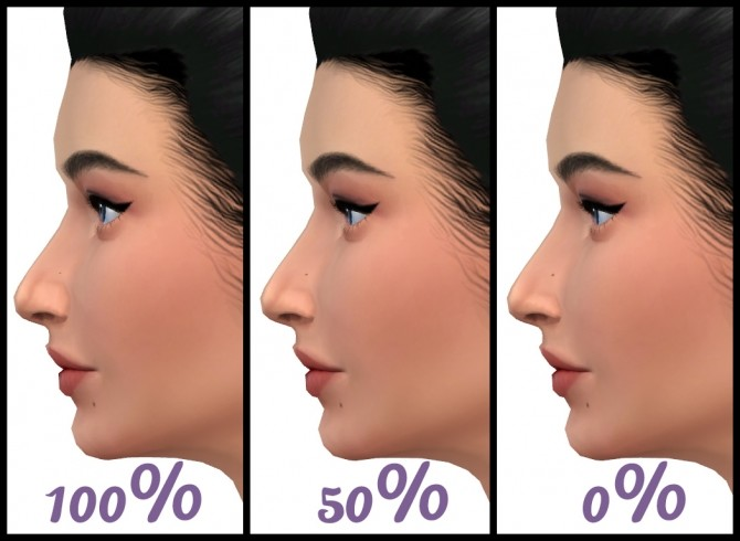 Alar Sidewall (Nostril Definition) Slider by Hellfrozeover at Mod The Sims image 1254 670x490 Sims 4 Updates