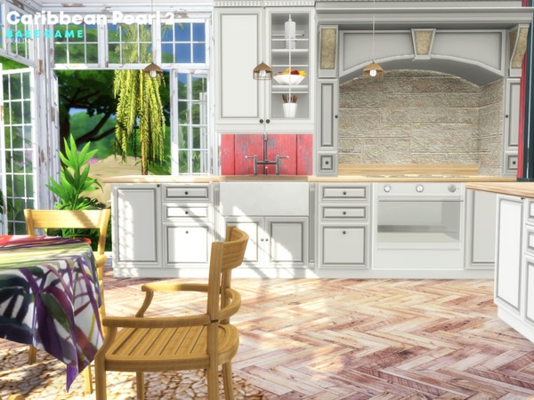 Caribbean Pearl 2 house by Pralinesims at TSR image 1262 Sims 4 Updates