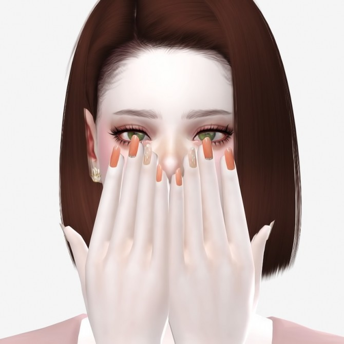 Nails 01 at Osoon image 1265 670x670 Sims 4 Updates