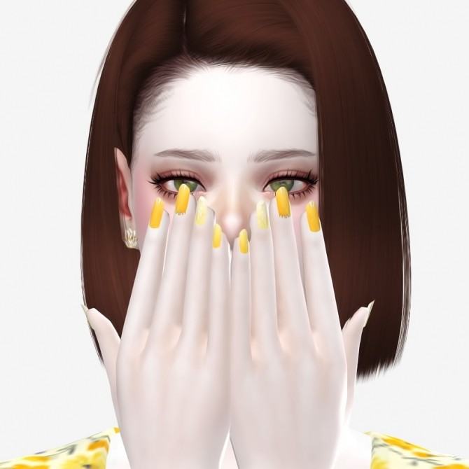 Nails 01 at Osoon image 1275 670x670 Sims 4 Updates