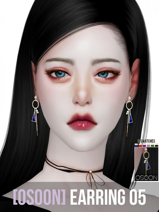 Earrings 05 at Osoon image 1285 670x894 Sims 4 Updates