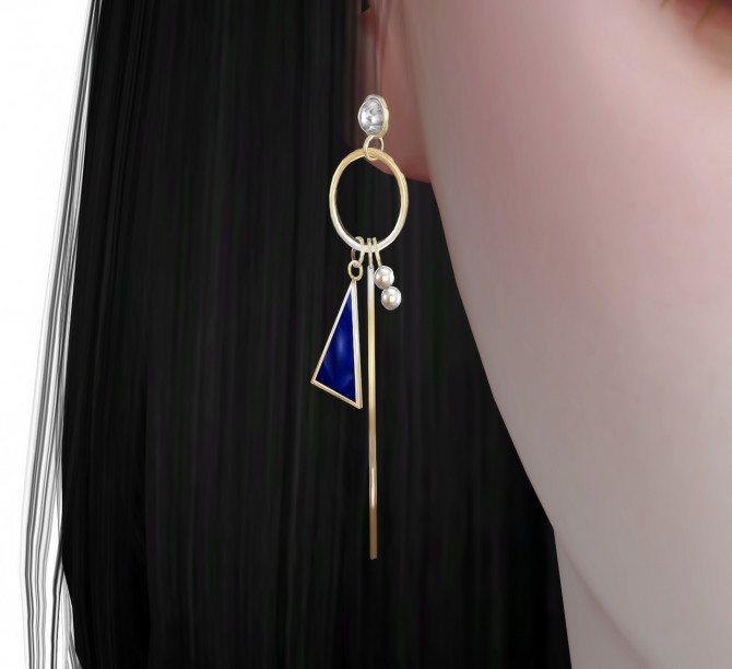 Earrings 05 at Osoon image 1295 670x612 Sims 4 Updates