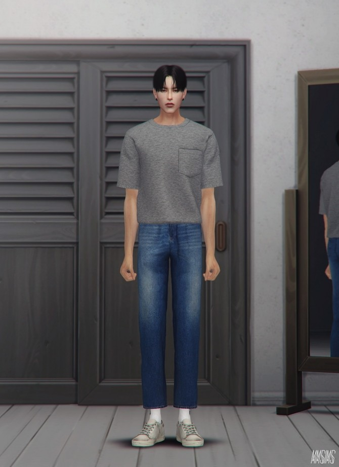 Sims 4 Pants in your closet at MMSIMS