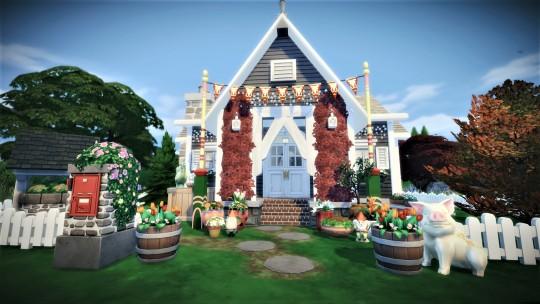 Sims 4 Granny House at Agathea k