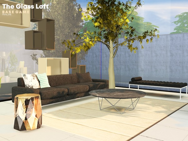 The Glass Loft by Pralinesims at TSR image 1336 Sims 4 Updates