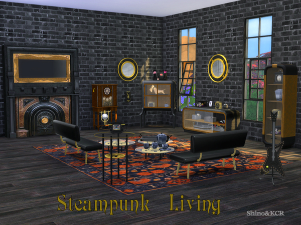 Living Steampunk by ShinoKCR at TSR image 1381 Sims 4 Updates