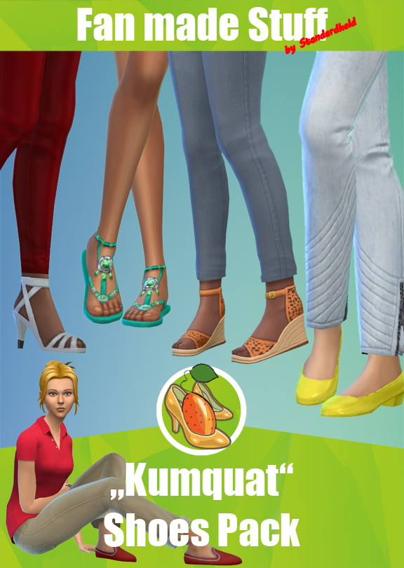 Kumquats fan made shoes pack by Standardheld at SimsWorkshop image 1394 Sims 4 Updates