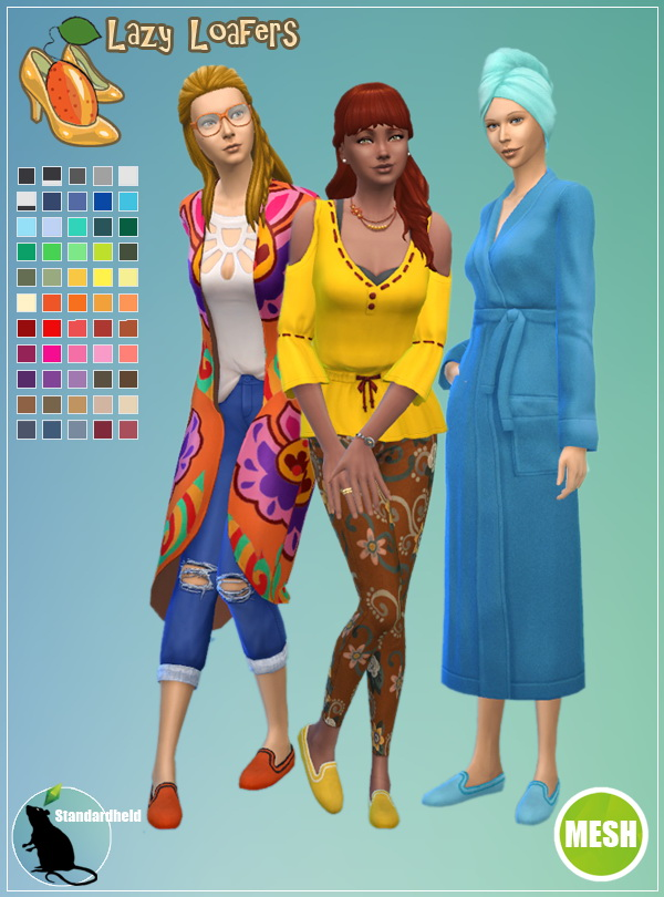Kumquats fan made shoes pack by Standardheld at SimsWorkshop image 1404 Sims 4 Updates