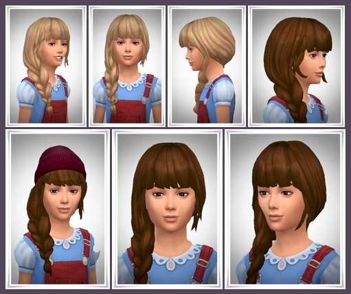 Side Braid Loose Hair at Birksches Sims Blog image 1417 Sims 4 Updates