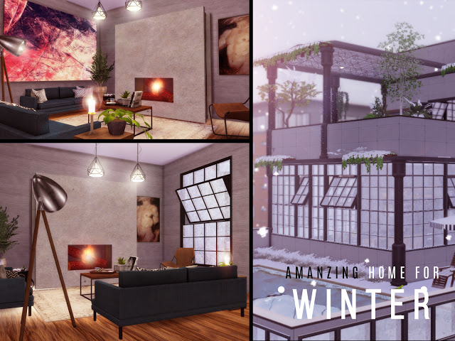 Winter PentHouse at Lily Sims image 14211 Sims 4 Updates