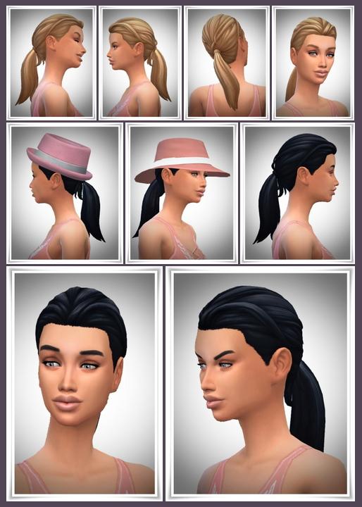 LadyFu Ponytail at Birksches Sims Blog image 1422 Sims 4 Updates
