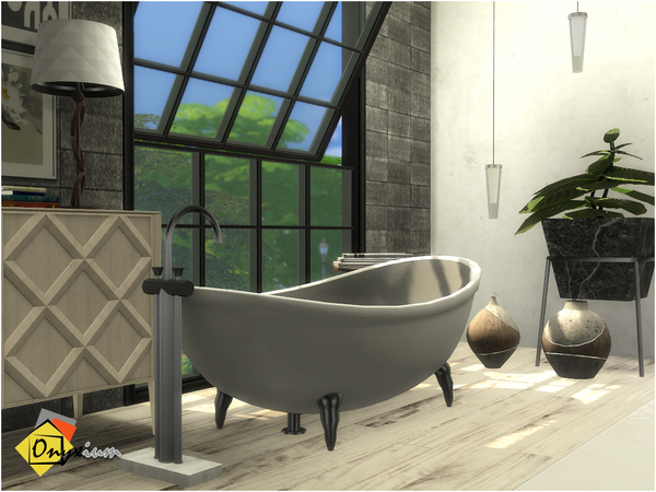 Brantford Bathroom by Onyxium at TSR image 1424 Sims 4 Updates