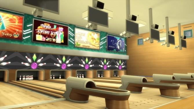 AMF Bowling Alley at RomerJon17 Productions image 1429 670x377 Sims 4 Updates