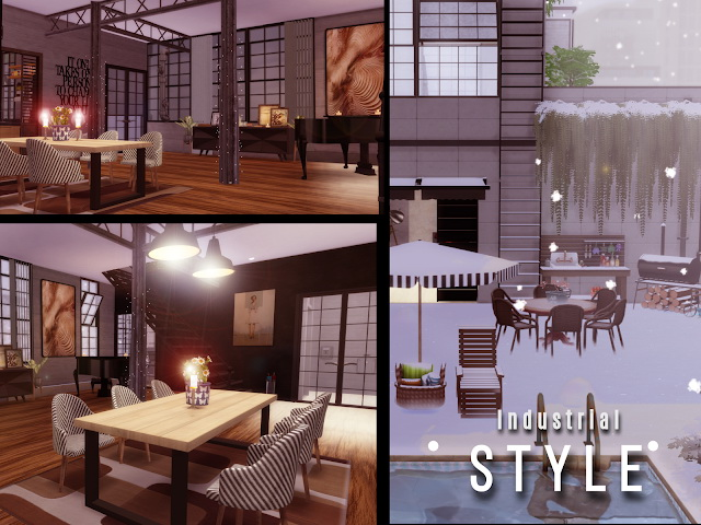 Winter PentHouse at Lily Sims image 14311 Sims 4 Updates