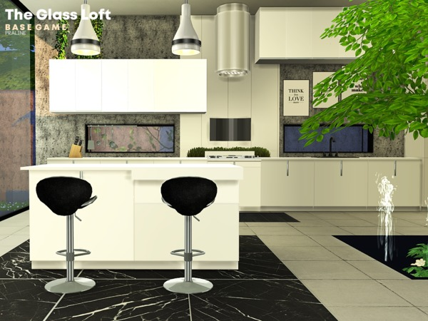 The Glass Loft by Pralinesims at TSR image 1436 Sims 4 Updates
