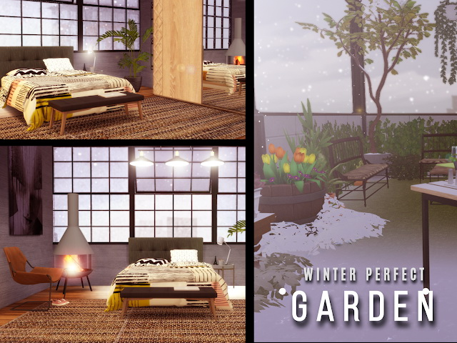 Sims 4 Winter PentHouse at Lily Sims