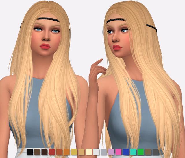 Sims 4 Nightcrawler Sunny Hair Re Texture at Simlish Designs