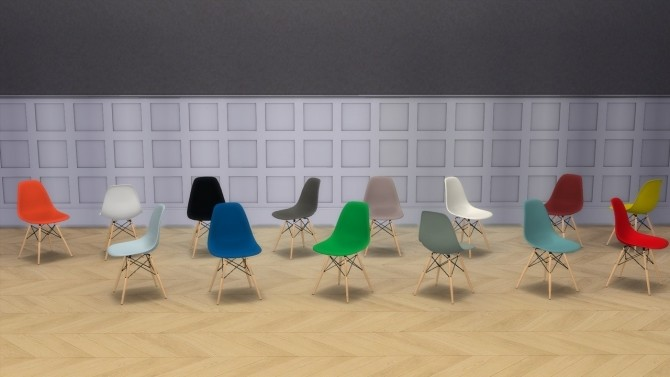 PLASTIC SIDE CHAIR COLLECTION (DSW AND DSR) at Meinkatz Creations image 1472 670x377 Sims 4 Updates